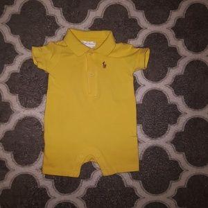 Polo by Ralph Lauren 3 months unisex infant romper